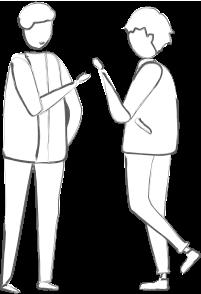 Pictogramme Convivial, atypique et confidentiel.